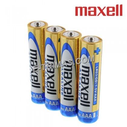 Maxell Japan AAA LR3 LR03 1.5V Long Lasting Heavy Duty Alkaline Battery (4PCS)