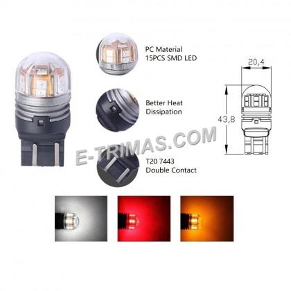 ORIGINAL TRILUX T20 1891 W21/5W LED Brake Bulb 10-30V 6500K