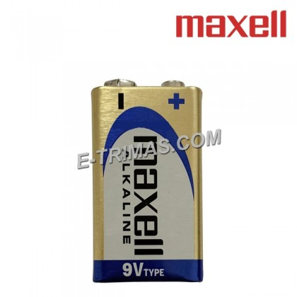 Maxell Japan 9V Alkaline Heavy Duty Battery Smart Tag SmartTag (1PC)