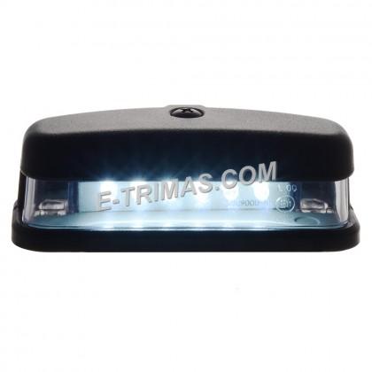 6 LED Universal License Number Plate Light For Truck Trailer 10-30V