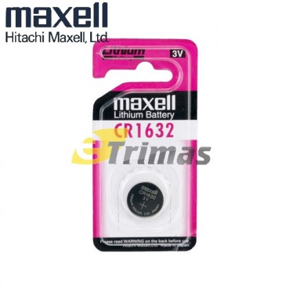CR1632 Original Hitachi Maxell Japan Lithium Batteries for Watch (1PC)