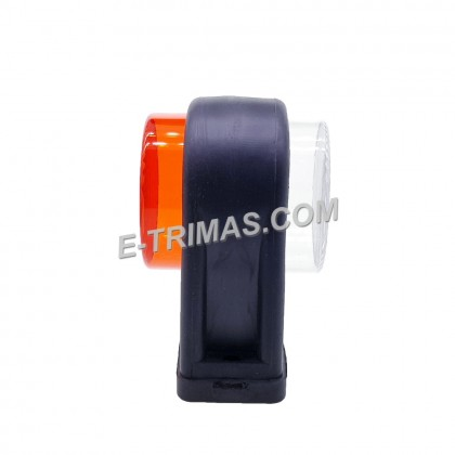 LED Tail Lights Side Rear Mini Marker Lamp Light For Lorry Truck Trailer