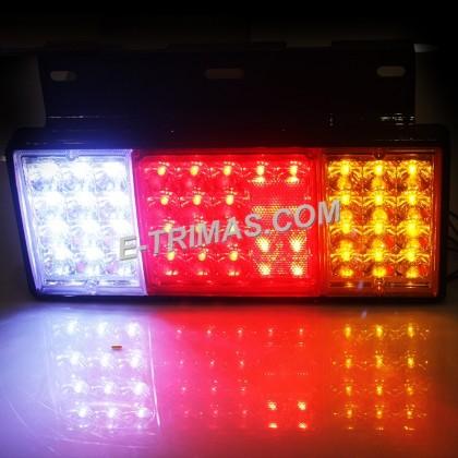 Isuzu NPR NHR Hicom Hino LED Tail Lamp Signal Light Lampu Lori Brake 12V 24V