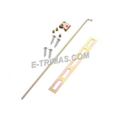 Central Door Lock System Door Gun Metal Accessories Parts