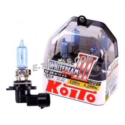 ORIGINAL Koito-P0756W Japan HB3 9005 12V White Beam +20% 4200K