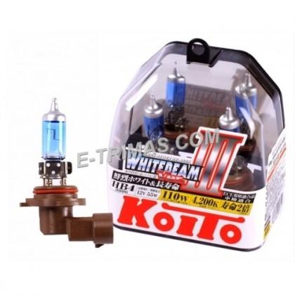 ORIGINAL Koito-P0757W Japan HB4 9006 12V White Beam +20% 4200K