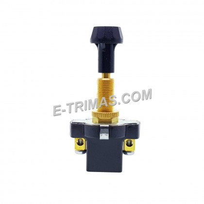 CS-7242 High Quality Gold SPST Push Pull Switch for Lorry Truck