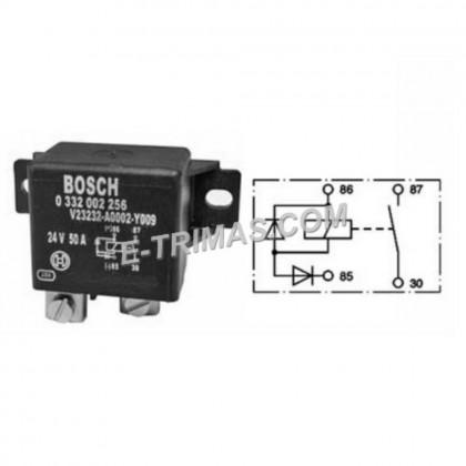 0332002256 Bosch 24V DC 50Amp Power Relay
