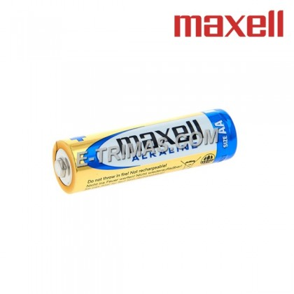 40PCS/BOX ORIGINAL Maxell Japan AA LR6 LR06 1.5V AAA LR3 LR03 Long Lasting Heavy Duty Alkaline Battery (4PCS)