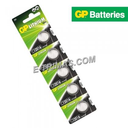 GP Lithium Coin Cell Battery CR2032 CR2025 CR2016 CR1220 CR1616 CR1632 (5PCS)
