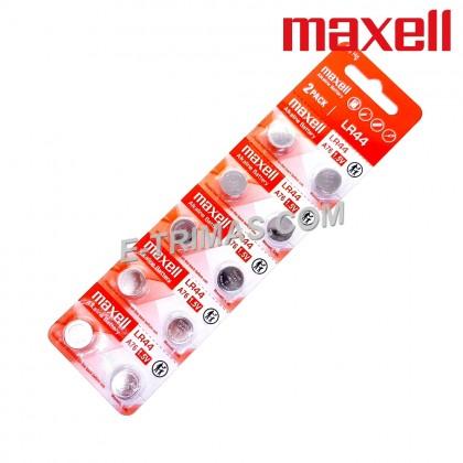 Maxell LR44 A76 AG13 L1154 G13 V13GA Button Coin Cell Battery (10PCS)