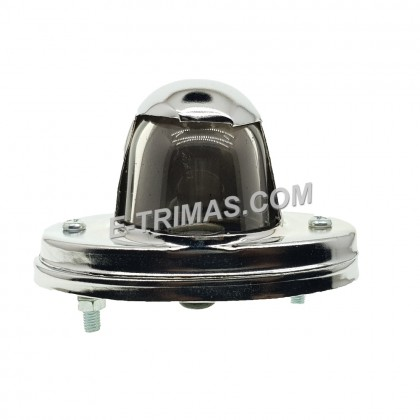 Hino Truck Lorry License Lamp Iron Material Round Type