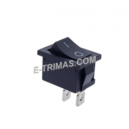 Rocker Switch 2 Pin On Off Square Rectangle Size