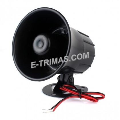 SUPER LOUD 12V Alarm Siren Horn Backup Buzzer System Universal 1 Tone