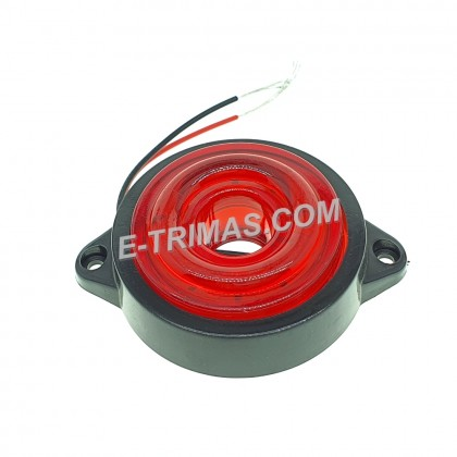 10 LED 2 Inch Rotating Side Marker Lights Lamp Truck Trailer Lorry