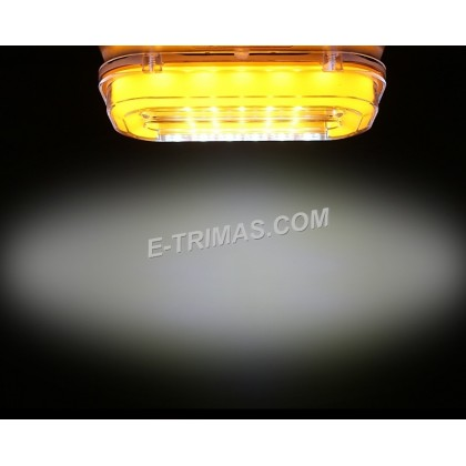 LED Illuminated Safety Side Marker Running Day Time Light Lamp Lorry Truck Trailer