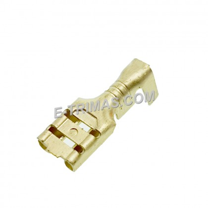 HX1143 Non Insulated Open Barrel Electronic Terminal Lug (10PCS)