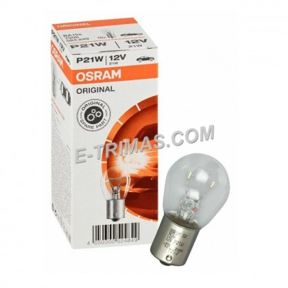 10PCS ORIGINAL Osram 1016 1141 4090 T10 Brake Reverse Signal Light Bulb Mentol 12V