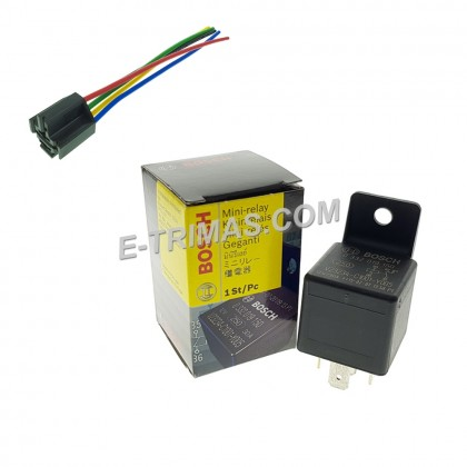ORIGINAL Portugal Bosch Universal 5 Pin Relay 30A 0332 019 150