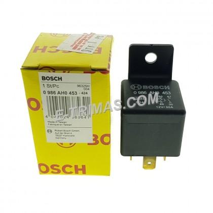 0986AH0453 Robert Bosch 4 Pin Automotive Mini Relay 30A 12V