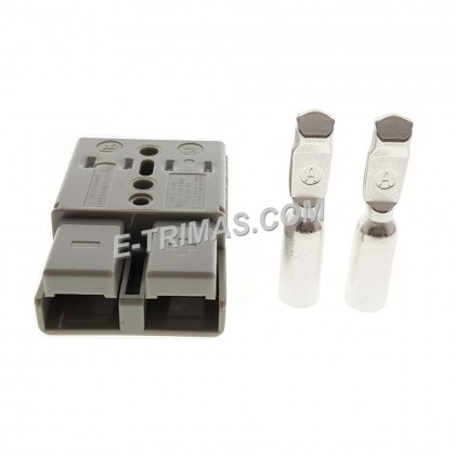120AMP Anderson Plug Battery Power Cable Supply Socket Connector Kit