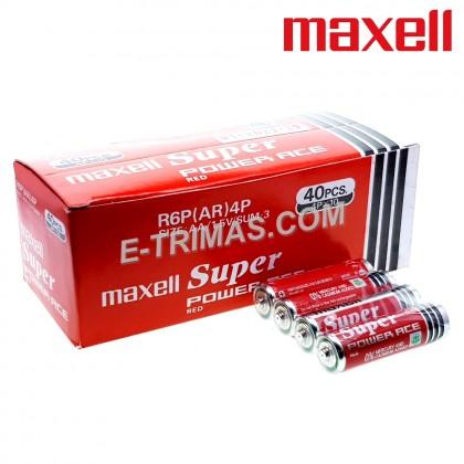 Maxell Japan Super Power Ace Heavy Duty AA Battery (4PCS)