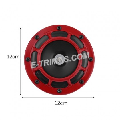 Hella Type TRILUX Red Power Horn Supertone Disc Horn Super Tone Set (1SET)