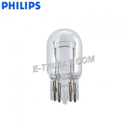 12066CP Genuine Philips T20 Toyota Honda Subaru Brake Light Bulb W21/5W