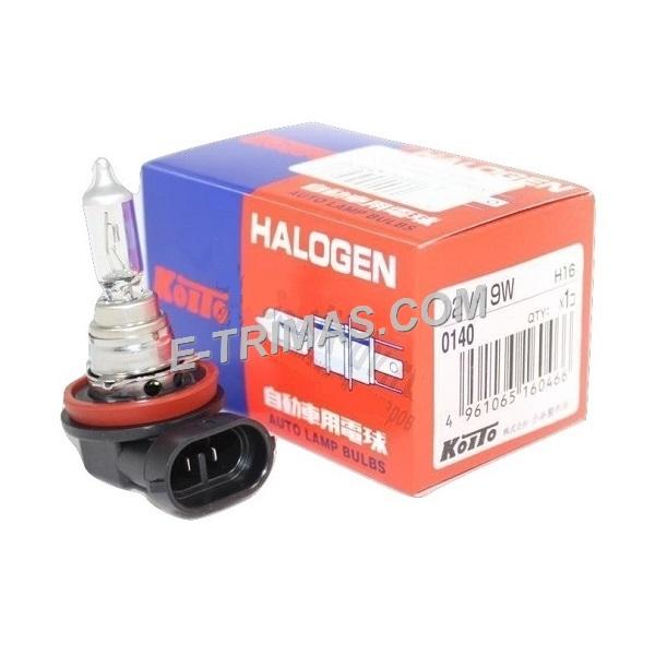 ORIGINAL Koito Japan H16 19W Halogen Head Light Bulb Toyota Vios Osram Type