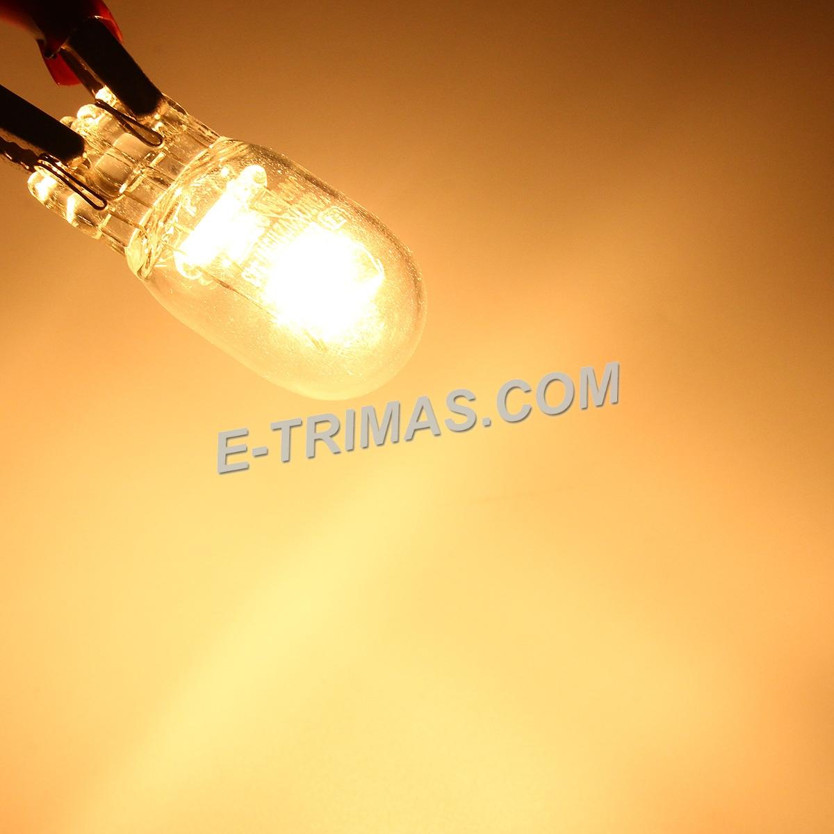 T20 1891 Auto Wedge Base Bulbs Single Contact Bulb W21/5W (2PCS)