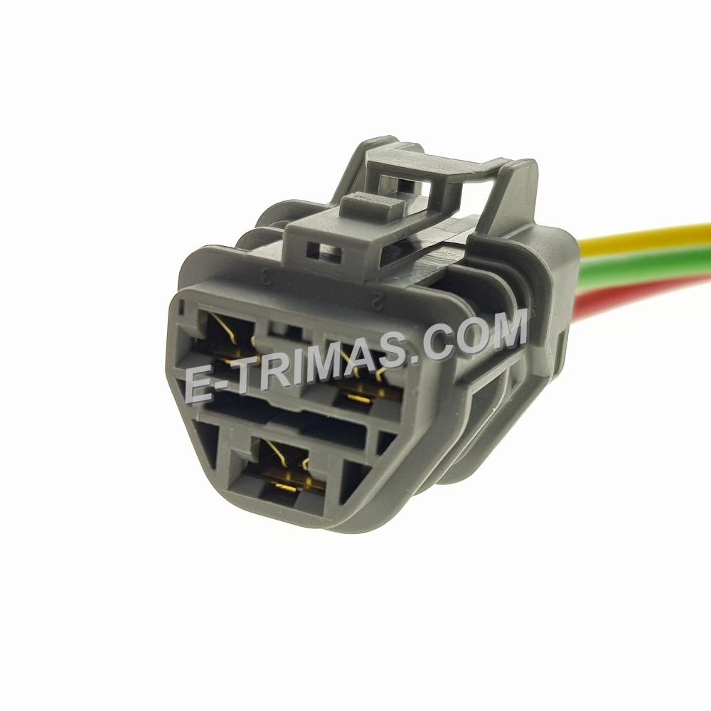 HX-83148-FM 3 Pin Automotive Socket Connector