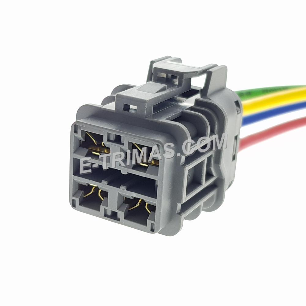 HX-83317-FM 4 Pin Automotive Socket Connector