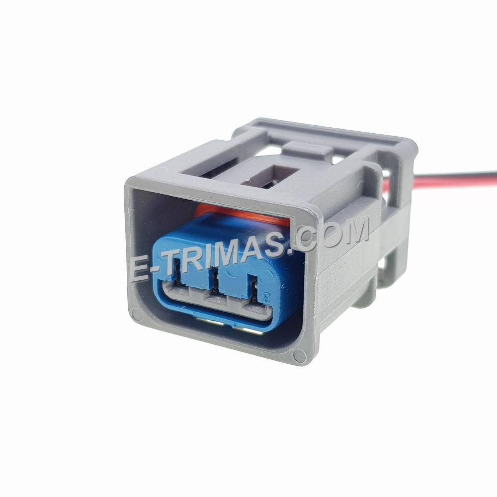 HX-83369-FM 3 Pin Automotive Socket Connector
