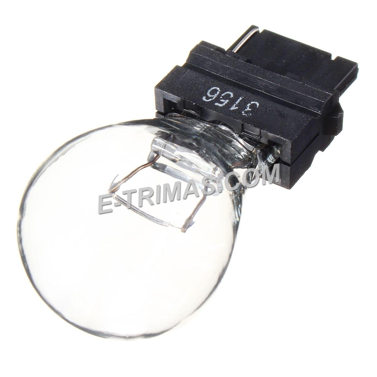 T25 3156 Car Halogen Tail Light Bulb Rear Brake Stop Turn Signal Reverse Lamp