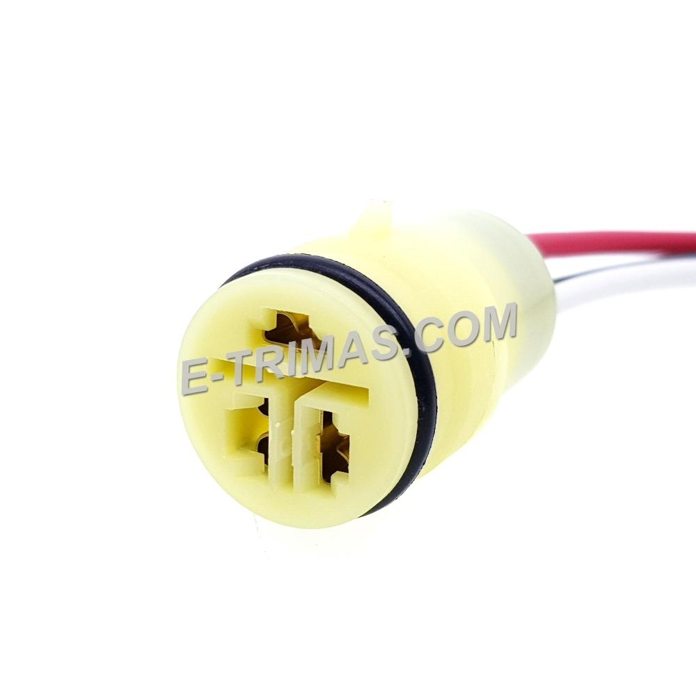 3 Pin Round Alternator Modify Socket Connector
