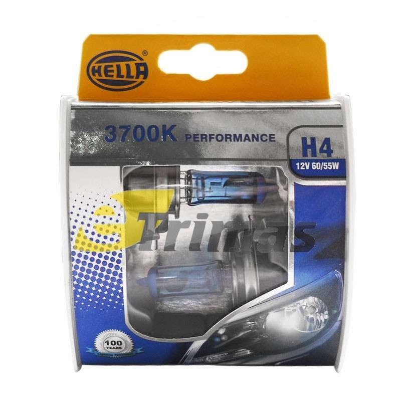 Hella Germany White DayLight Performance Halogen Bulb 3700K H1/H4/H7 (SET)